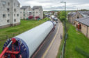 Dorenell turbines on the move in Elgin.
