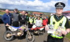 Police Scotland launched Operation Armour, formerly Operation Trinity to crack down on anti-social motorcycle riding