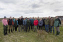 The Highlands and Islands Regional Forestry Forum during their recent visit to the Isle of Lewis