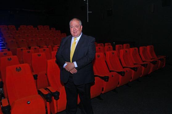 Gary Brown the new chairman of Oban Phoenix Cinema.