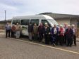 The bus currently receives a grant from Aberdeenshire Council to cover just under 50% of the running costs.