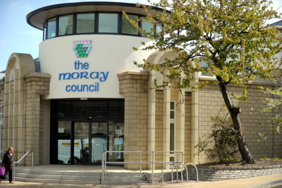 Moray Council in Elgin.