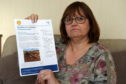 Pauline Gerrard from Aberdeen, received a letter about archaeological works being carried out near Buckingham, England