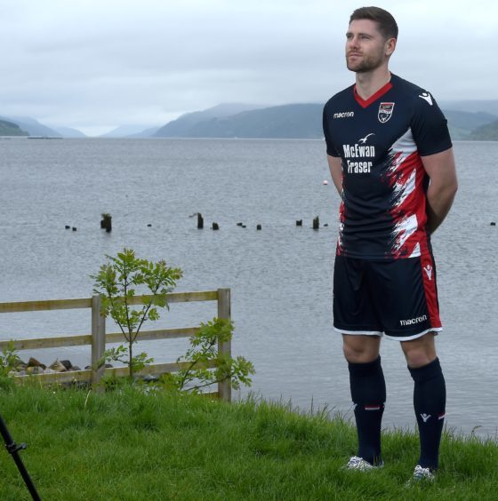 GALLERY: Ross County reveal their new kit for next season on the shores of Loch Ness