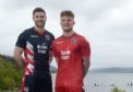 Iain Vigurs and Tony Dingwall launched Ross County's new strip.