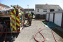 The fire service was paged at 10.17am dispatching two appliances to the scene.