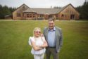 Bill Boyd and his wife Pauline at Sunnyside Lodge
