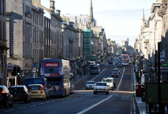 Traffic fumes in Aberdeen still 'dangerously' high despite AWPR cutting congestion | Press and Journal