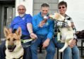 Stonehaven branch of the Guide Dogs charity received a cheque for £10,000 from the Stonehaven Beer Festival.