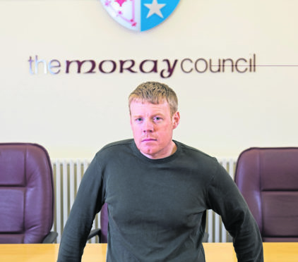 Buckie councillor Tim Eagle.