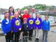Lochnell primary schools in the Oban area met with representatives from Zero Waste Scotland and the Scottish Government yesterday