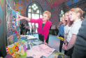 First Minister Nicola Sturgeon meets with pupils from Caol Primary School