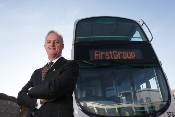 Tim O'Toole of FirstGroup.
