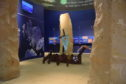 Pupils from Elgol Primary School's work on display at the Armadale Castle Museum