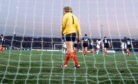 03/06/78 WORLD CUP FINALS PERU V SCOTLAND (3-1) ESTADIO CHATEAU CARRERAS - CORDOBA Scotland goalkeeper Alan Rough looks dejected as Puru players celebrate