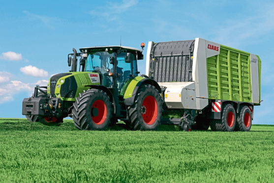 Sellars is a main dealer for Claas