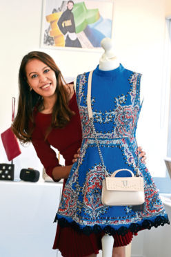 Vishwavara Archer, opening her pop-up shop at Stellar