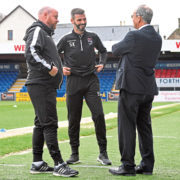 Co-managers in post sooner than expected but Staggies chairman Roy MacGregor sure pair will do well