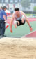 Sam Lyon in the long jump