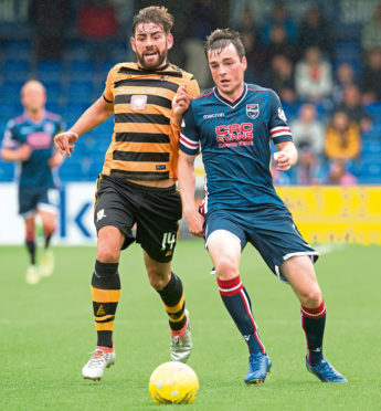 Ross County defender Sean Kelly.