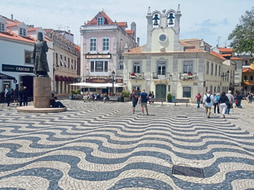 The historic centre of Cascais