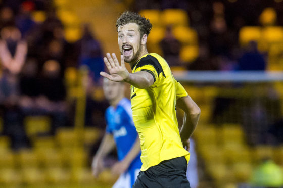 Jordan White previously played for Livingston.