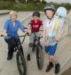 Councillor Jenny Laing opened a new skateboard park in Torry.