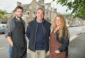 Aberlour business owners Stewart Mackie from S.A. Makie Butchers, Brian Doran from The Gallery in Abelour and Sarah Nairn-Anderson from The Gather'n