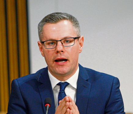 Finance Secretary Derek Mackay.