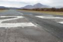 The Skye Airstrip at Ashaig between Broadford and Kyleakin.