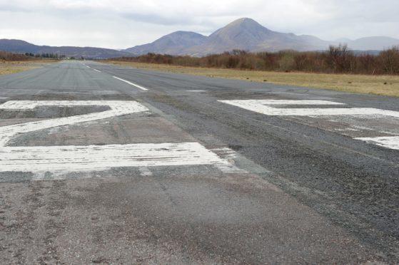 The Skye Airstrip at Ashaig between Broadford and Kyleakin.