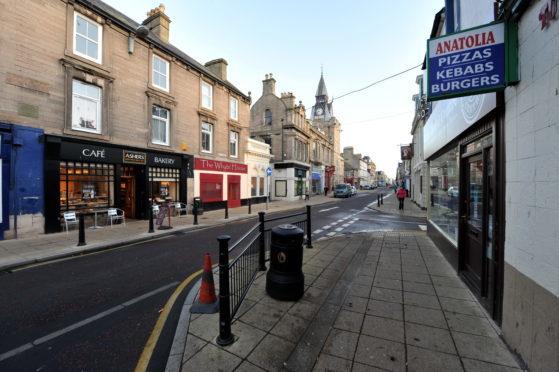 Nairn High Street.