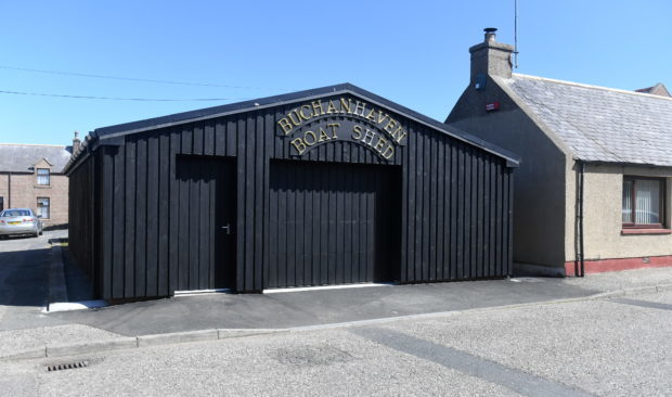 Buchanhaven Boat Shed is going to open on Saturday to the public. It's a new aquarium with locally caught sealife. They are also building a boat in it too as well. Picture by Chris Sumner