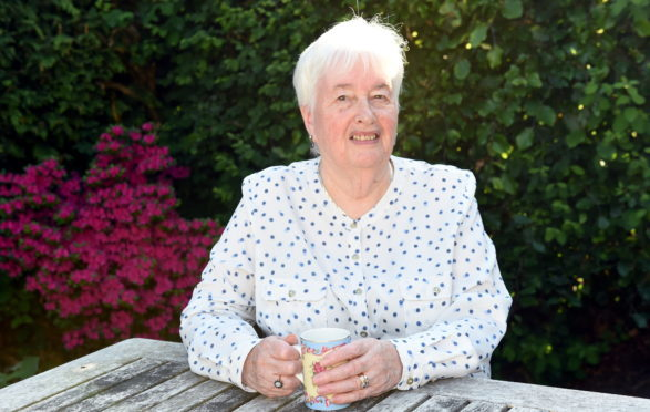 June Morrison has been given an MBE in the Queen's birthday honour list. Pictured is June Morrison. Picture by Heather Fowlie.