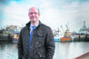 Fraserburgh Harbour chairman Michael Murray at Fraserburgh Harbour