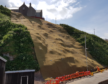Stabilisation work has been carried out at Gardenstown