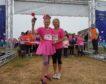 Gillian Bitta and daughter Aspen launch Aberdeen's Race For Life today.