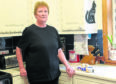 Terry Allington-Warne is  having to make a 20-mile round trip to Aberdeen to get her prescriptions