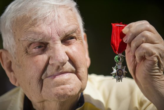 John Smith was part of the merchant navy that supported the armed forces for the D-Day landings in World War II