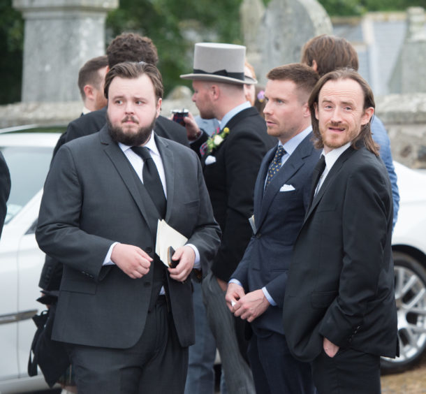 Actor John Bradley known for his role as Samwell Tarly