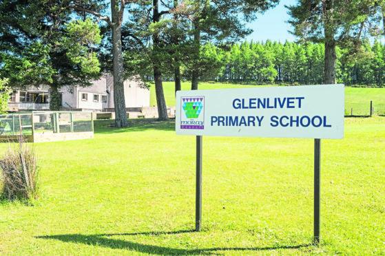 Glenlivet Primary School in Moray