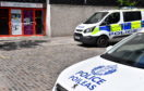 Police Scotland at an incident at the Aberdeen Market.      Picture by Kami Thomson    09-06-18