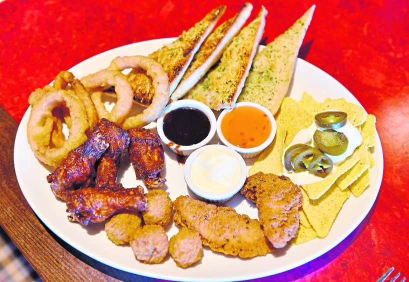 The Farmhouse Sharer platter has something for everyone to enjoy