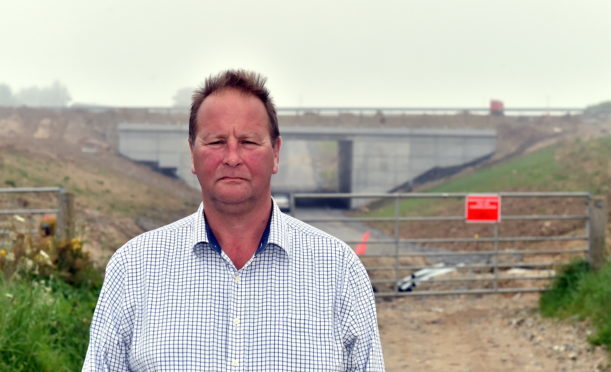 Farmer James Duthie seeking more than £1 million compensation