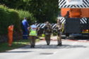 The scene of the incident in Dornoch