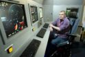 A Moray College UHI student, Philip Forster, has designed a computer system to show visitors how maritime patrol aircraft work and how it looks in a Nimrod aircraft at Morayvia, Kinloss