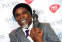 Billy Ocean with the award for International Achievement at the 63rd Annual Ivor Novello Songwriting Awards.
