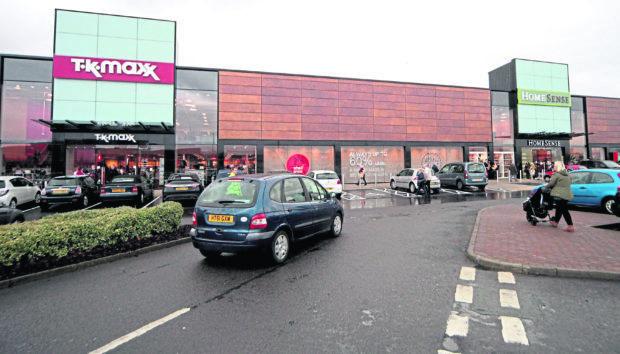 Fort Kinnaird Shopping Park, Edinburgh