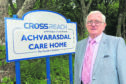 Derrick Milnes at Achvarasdal Care Home, Reay, which has now closed
