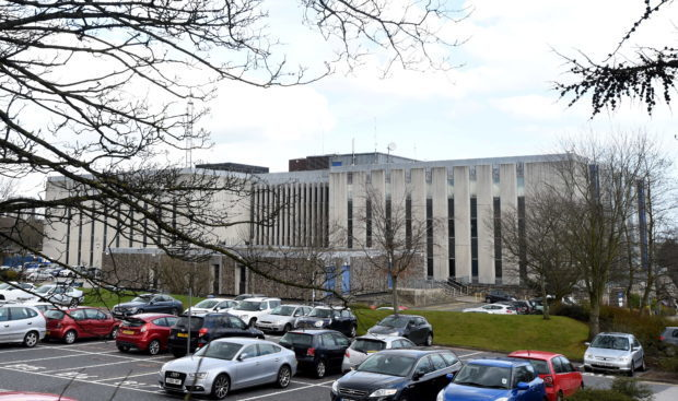 Headquarters of Aberdeenshire Council.